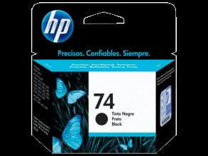 Cartucho HP 74 Preto Original (CB335WB)